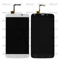 Дисплей (LCD) Doogee (HomTom) HT6/ HT6 Pro + сенсор белый