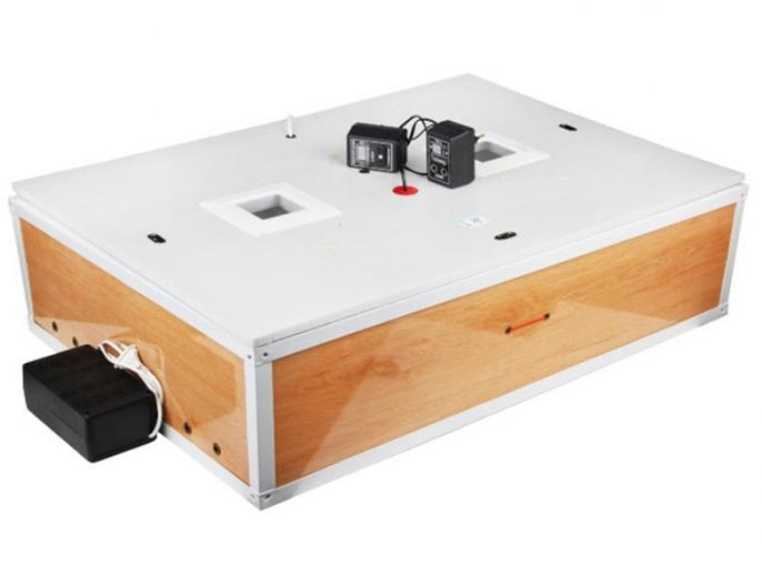 Инкубатор цифровой Курочка Ряба ИБ-120 с автоматическим переворотом яиц и вентилятором