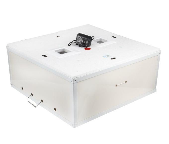 Инкубатор цифровой Курочка Ряба ТЭНовый на 140 яиц механический переворот
