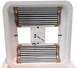 Инкубатор цифровой Рябушка на 70 яиц с ручным переворотом, литым корпусом, ТЭНом и вентилятором, фото 3