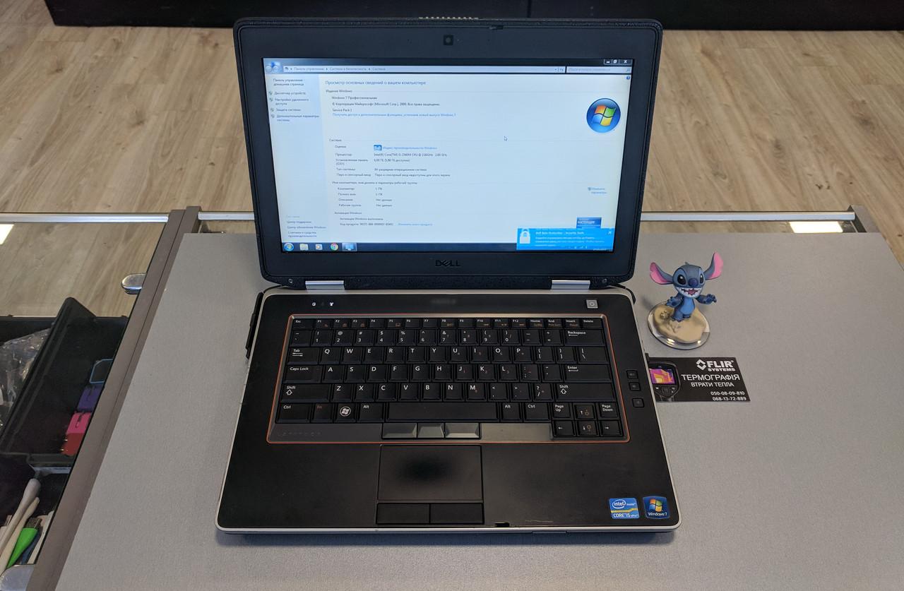"Dell Latitude E6420 ATG Intel Core i5 / RAM 6Gb / HDD 320Gb / 14"" ГАРНТІЯ!"