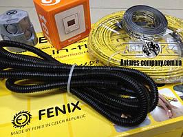 Тонкий кабель теплого пола в комплекте с (цифровым термостатом) (3.2 м.кв.) Чехия