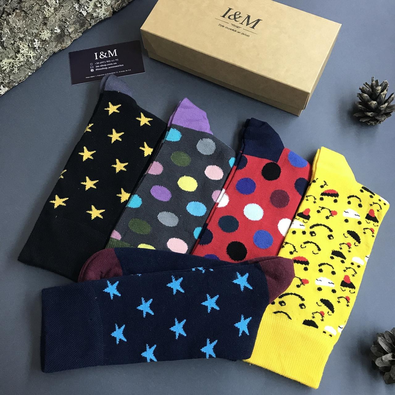 Набор носков I&M Craft из 5-ти пар (070134)
