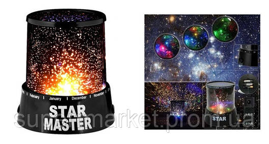 Лампа звездное небо Star Master ночник Gizmos, фото 2