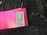 Джинсы женские большого размера ОМАТjeans 9559-805 синие, фото 4