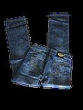 Джинсы женские большого размера ОМАТjeans 9559-805 синие, фото 3
