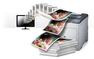 Цветная печать формата А4 (бумага 120 г/м2, заполнение <50%)