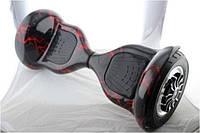 """Гироскутер 10"""" i10  №8 Красная молния встроенный bluetooth приложений Автобаланс с АКБ Samsung"""