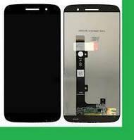 Дисплей (LCD) Motorola XT1662 Moto M/ XT1663 + сенсор чёрный