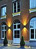 Настенный светильник Feron DH015 для подсветки фасадов черный под лампу GU10, фото 2