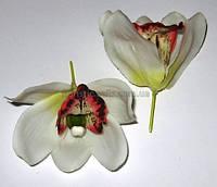 Головка орхидеи/цимбидиум латексная белая