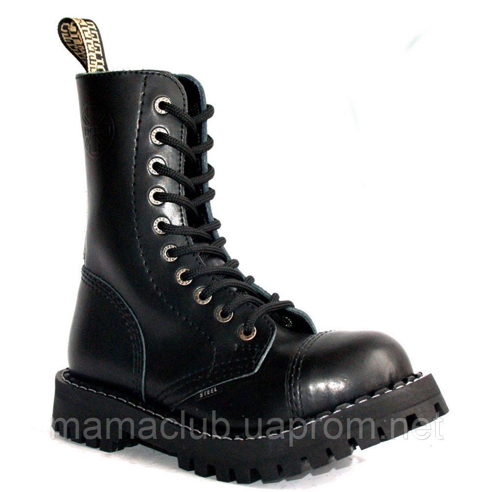 0f5b170e0 Зимние берцы Steel с шерстью черные 10 дырок 105-106/O/400 VEGAN ...