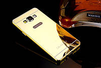 Алюминиевый чехол бампер для Samsung Galaxy A7/A700H (2015 год)