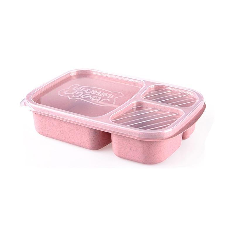 Ланч Бокс BoxShop Yummi gear розовый (LB-1667)