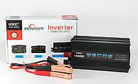 Преобразователь напряжения / инвертор 12-220V UKC AC/DC 1000W SSK, фото 1