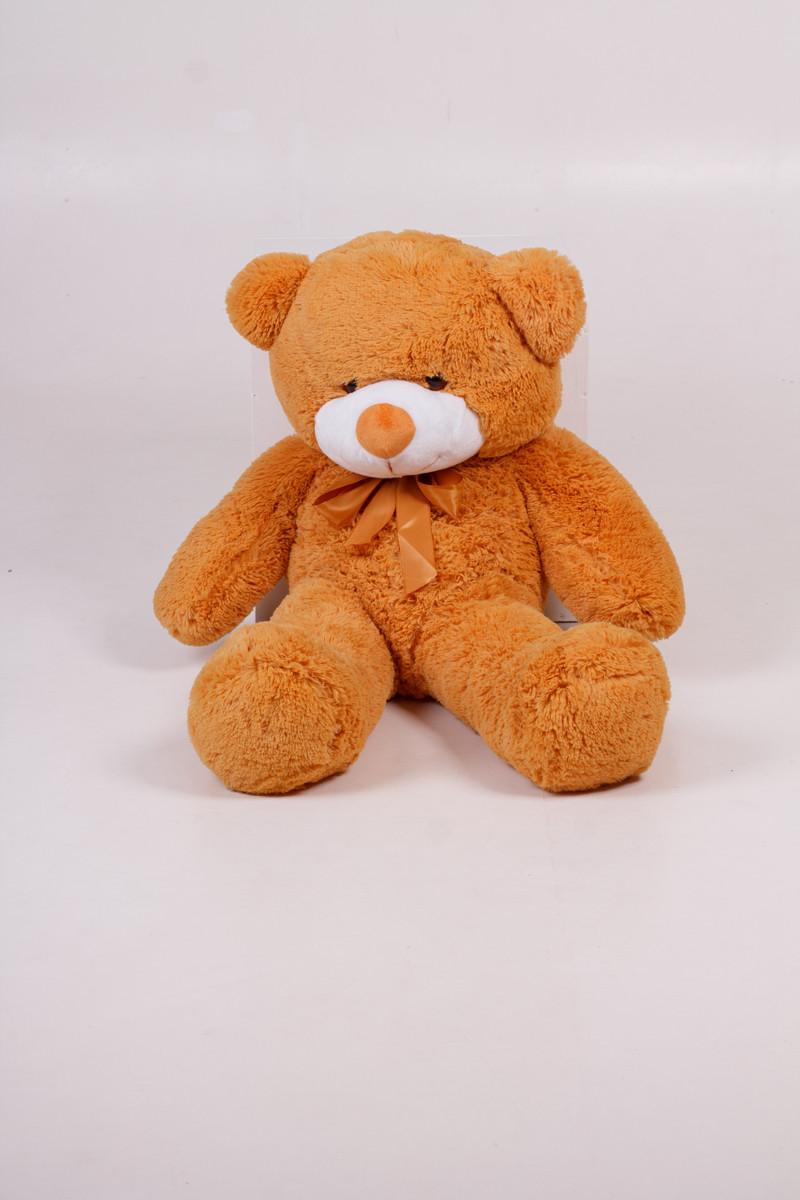 Плюшевий ведмедик Тедді карамель 80 см