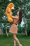 Плюшевий ведмедик Тедді карамель 80 см, фото 3