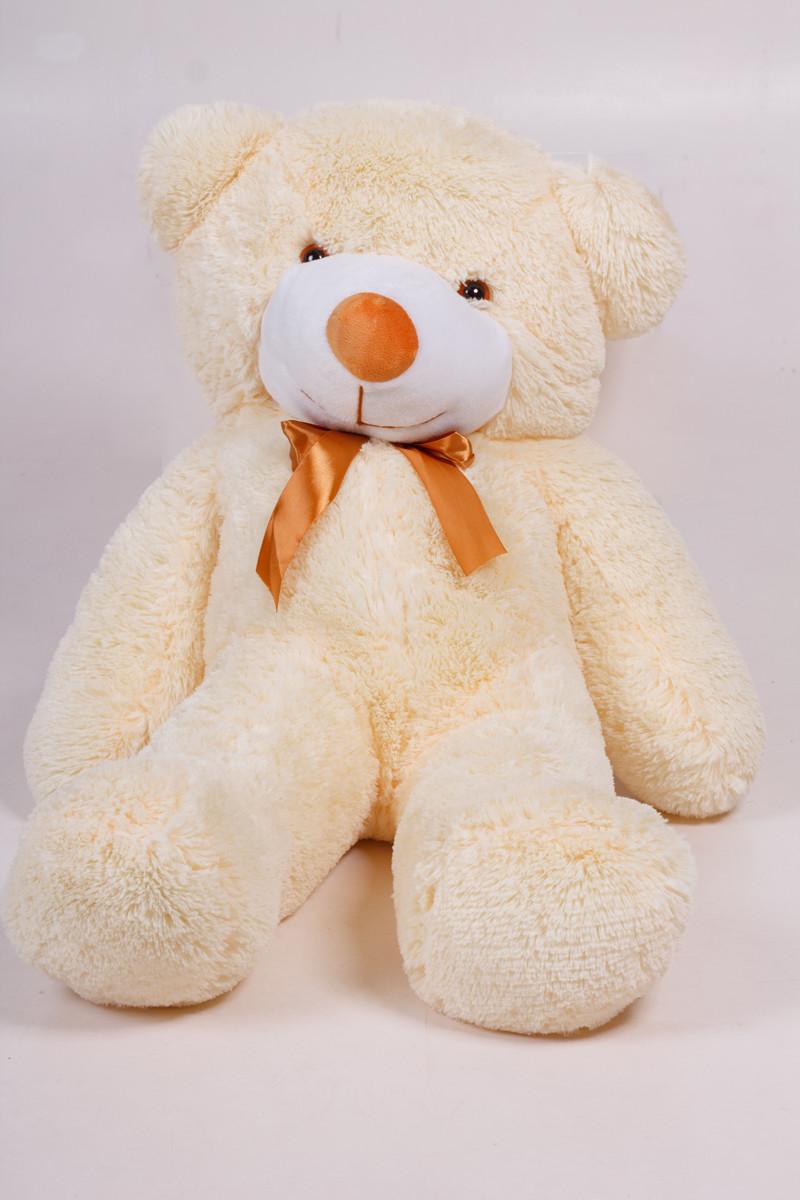 Плюшевий ведмедик Тедді кремовий 80 см