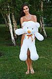 Плюшевый мишка Тедди белый 100 см, фото 3