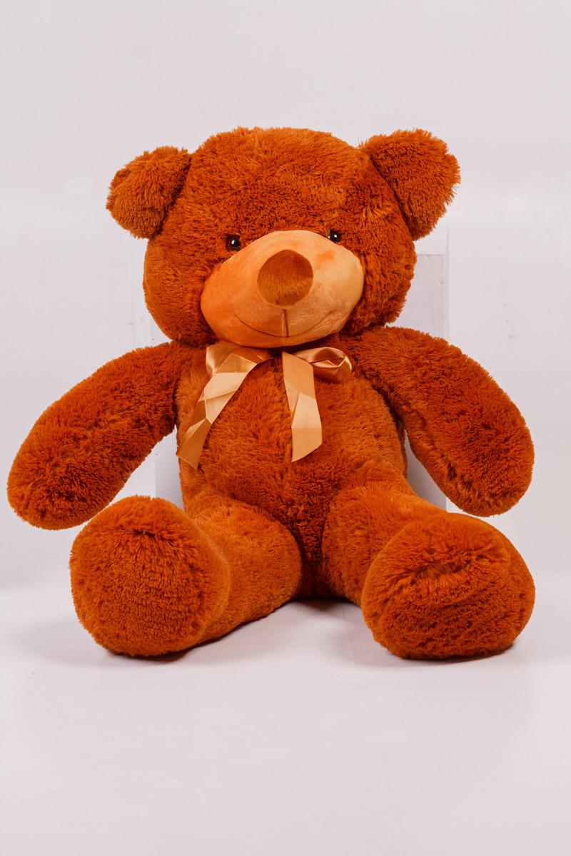 Плюшевий ведмедик Тедді коричневий 100 см