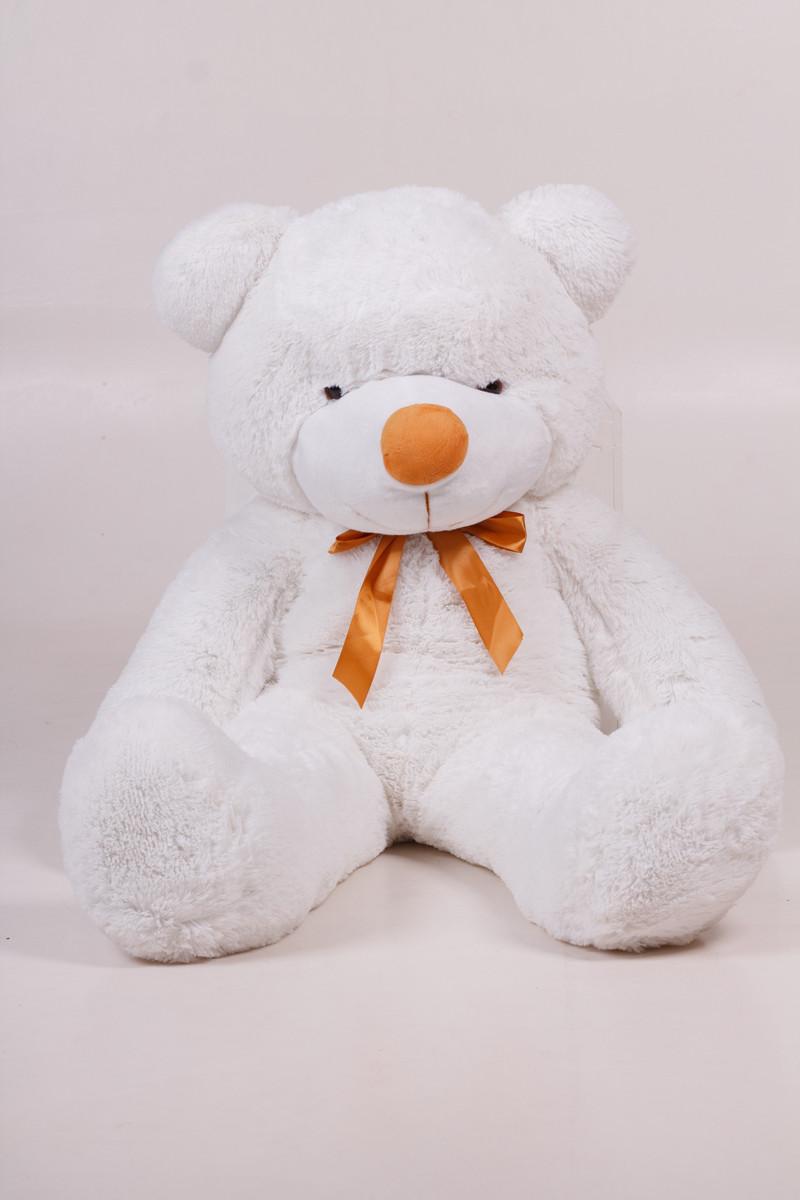 Плюшевий ведмедик Тедді білий 120 см