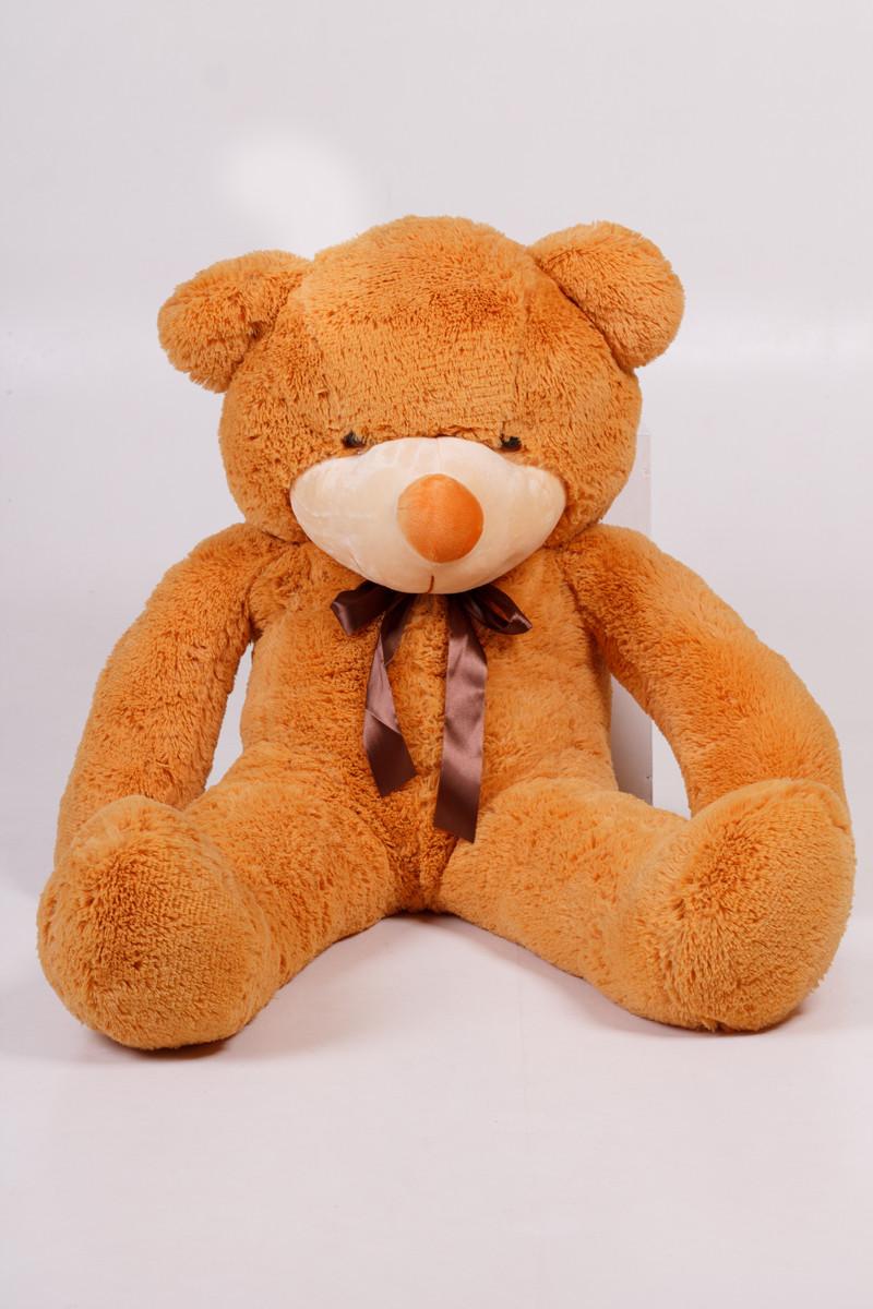 Плюшевий ведмедик Тедді карамель 120 см