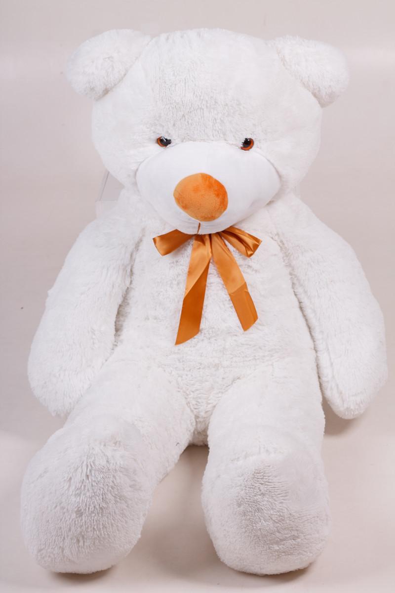 Плюшевий ведмедик Тедді білий 140 см