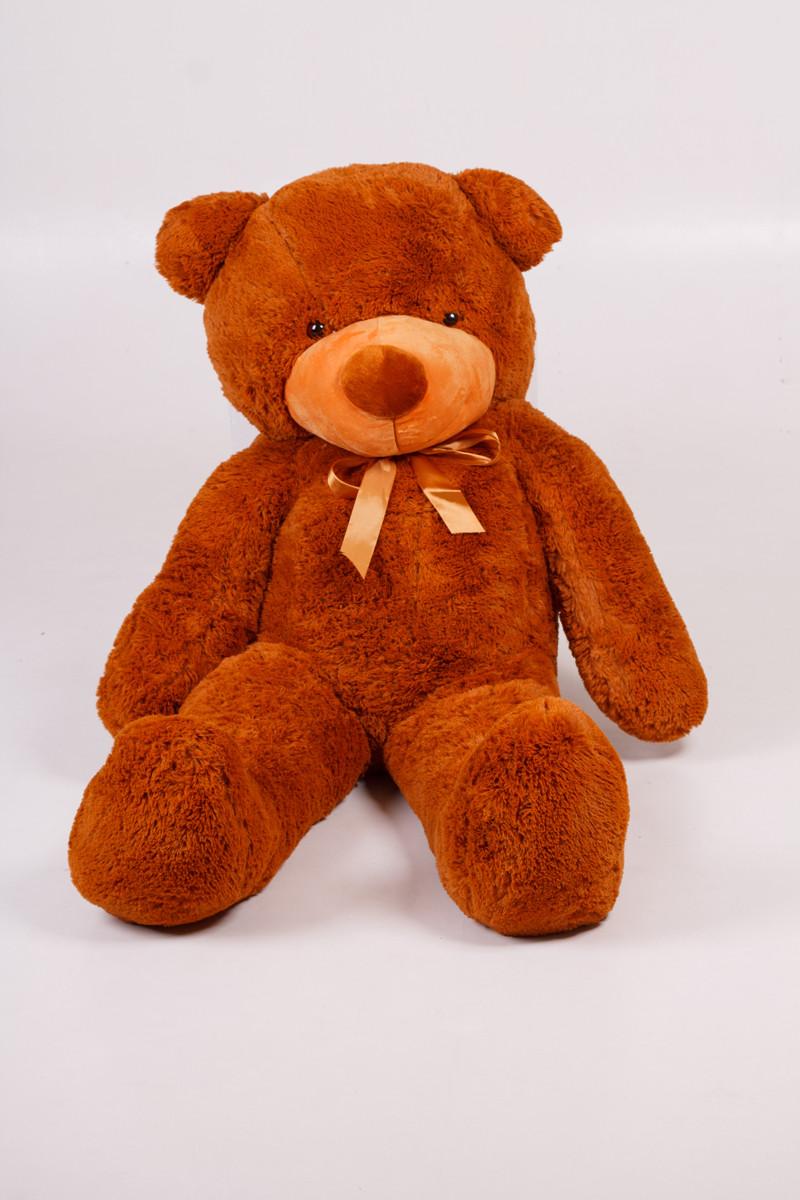 Плюшевый мишка Тедди коричневый 140 см
