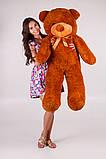 Плюшевый мишка Тедди коричневый 140 см, фото 2