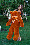 Плюшевый мишка Тедди коричневый 140 см, фото 4