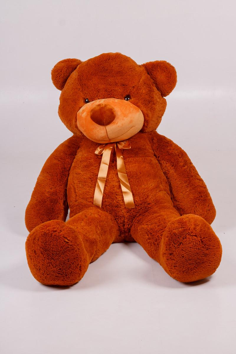 Плюшевий ведмедик Тедді коричневий 160 см