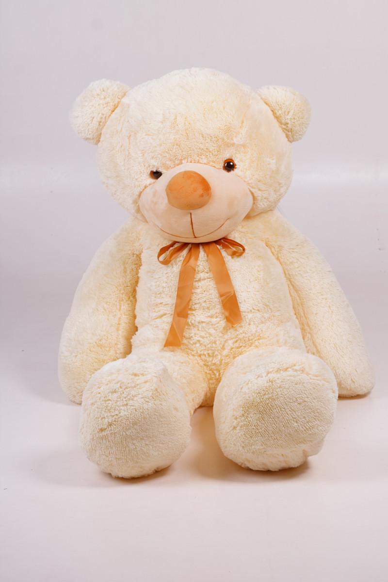 Плюшевий ведмедик Тедді кремовий 160 см