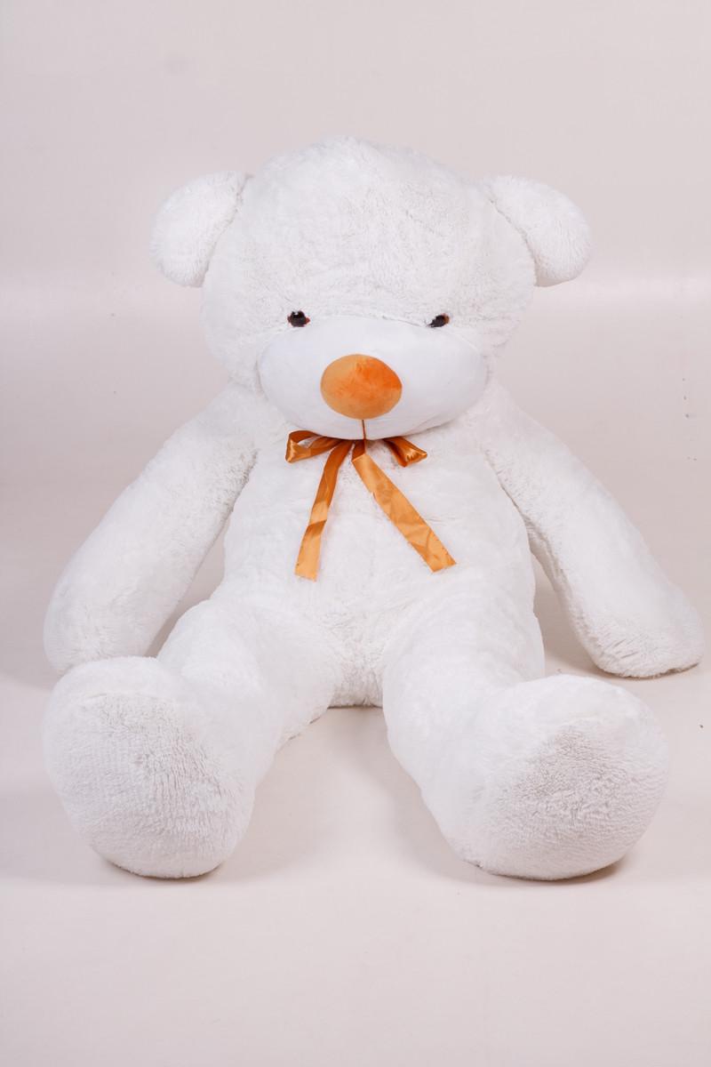 Плюшевый мишка Тедди белый 180 см