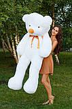 Плюшевый мишка Тедди белый 180 см, фото 3