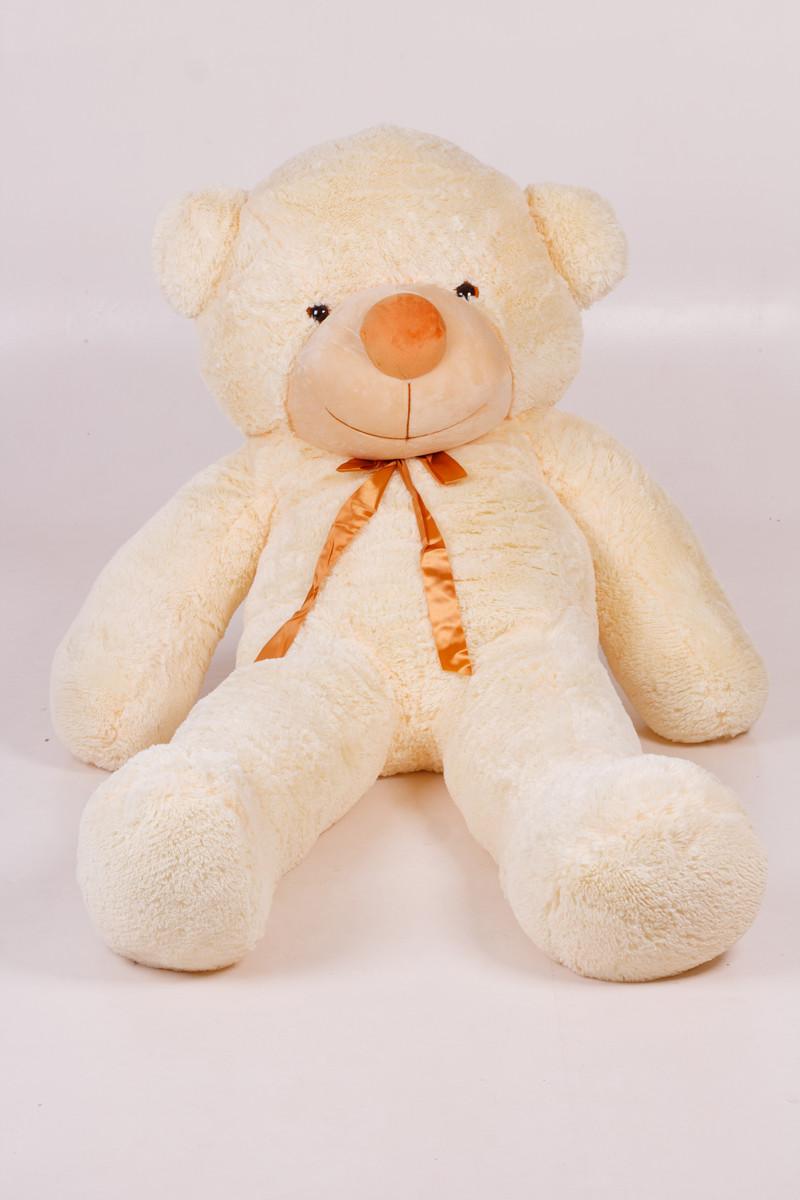 Плюшевый мишка Тедди кремовый 180 см