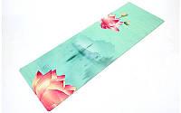 Коврик для йоги замшевый FI-5662-27