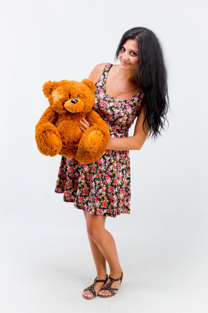 Маленький ведмедик коричневий