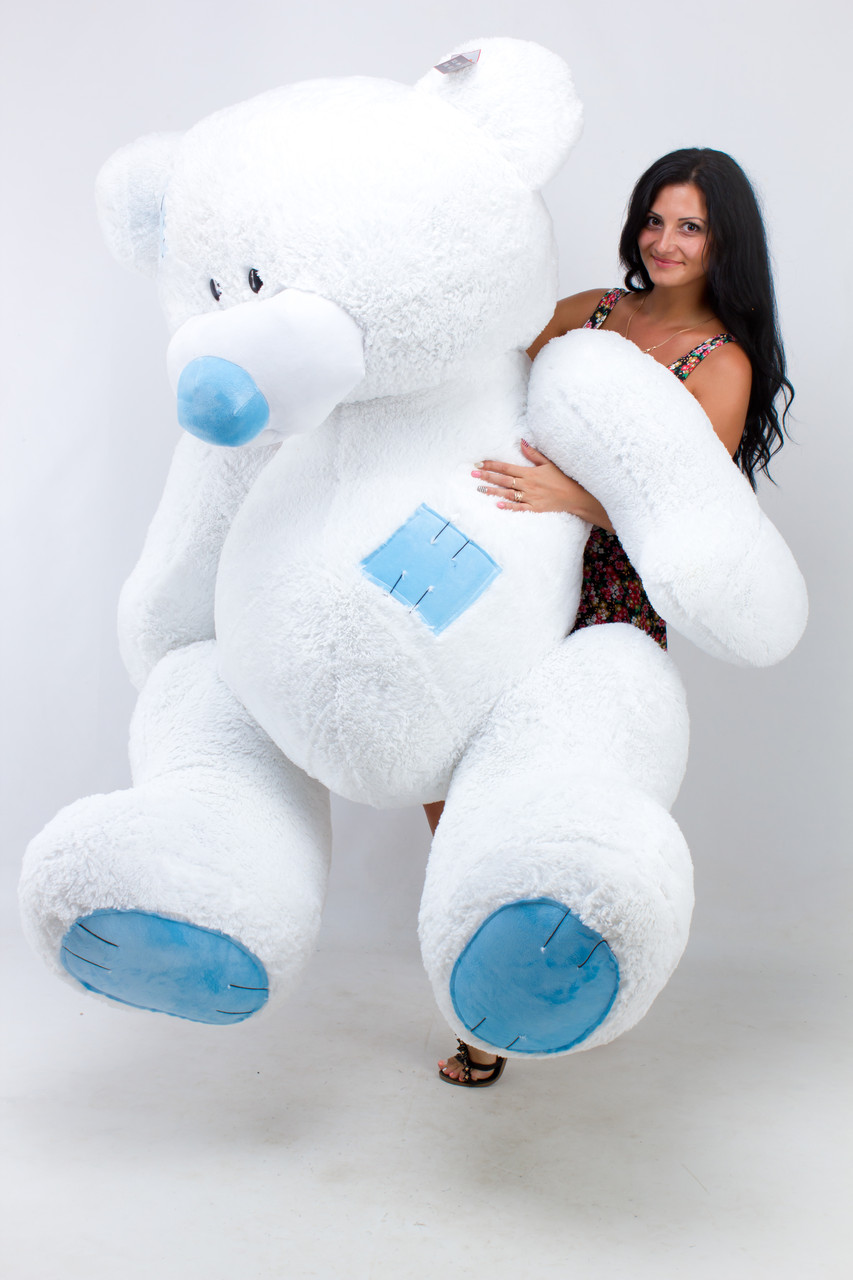 Плюшевий ведмедик дуже великий 2.5 метра