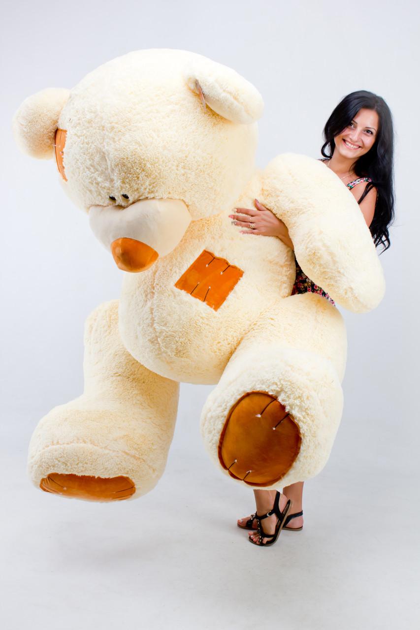 Величезний плюшевий ведмедик 250 см