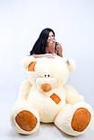 Величезний плюшевий ведмедик 250 см, фото 2