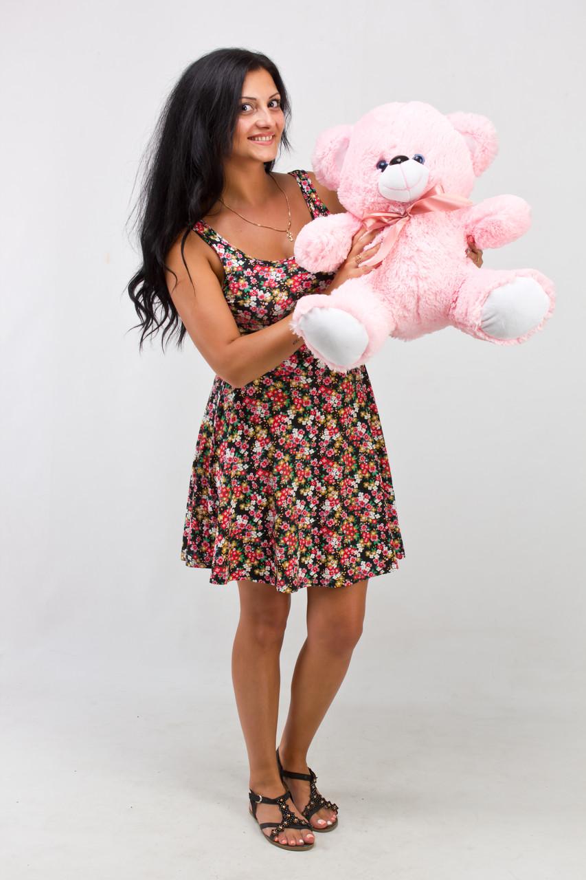 Маленький рожевий ведмедик