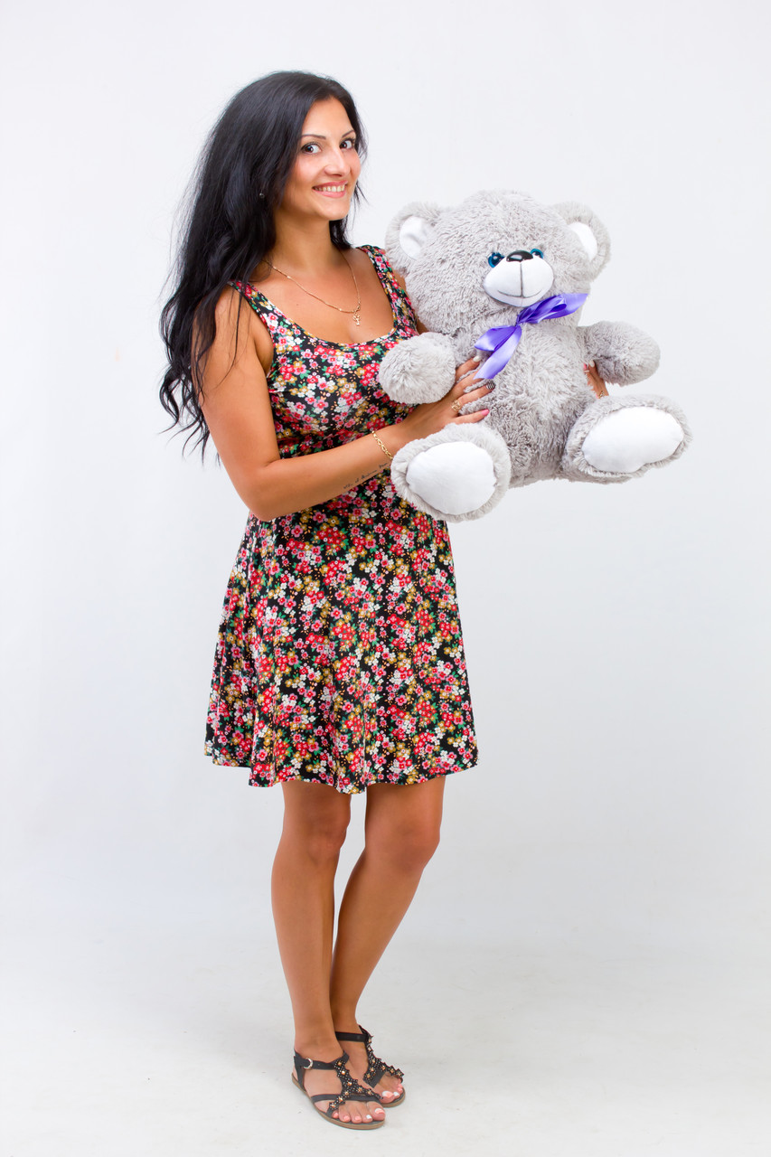 Маленький плюшевий ведмедик 50 см