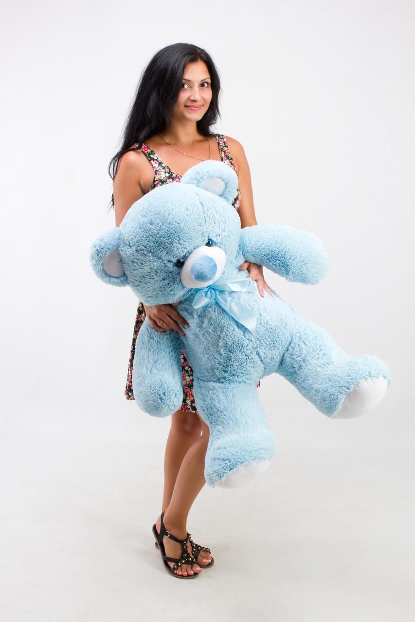 Мишко блакитний 100 сантиметрів