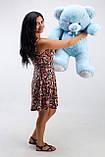 Мишка голубой 100 сантиметров, фото 2
