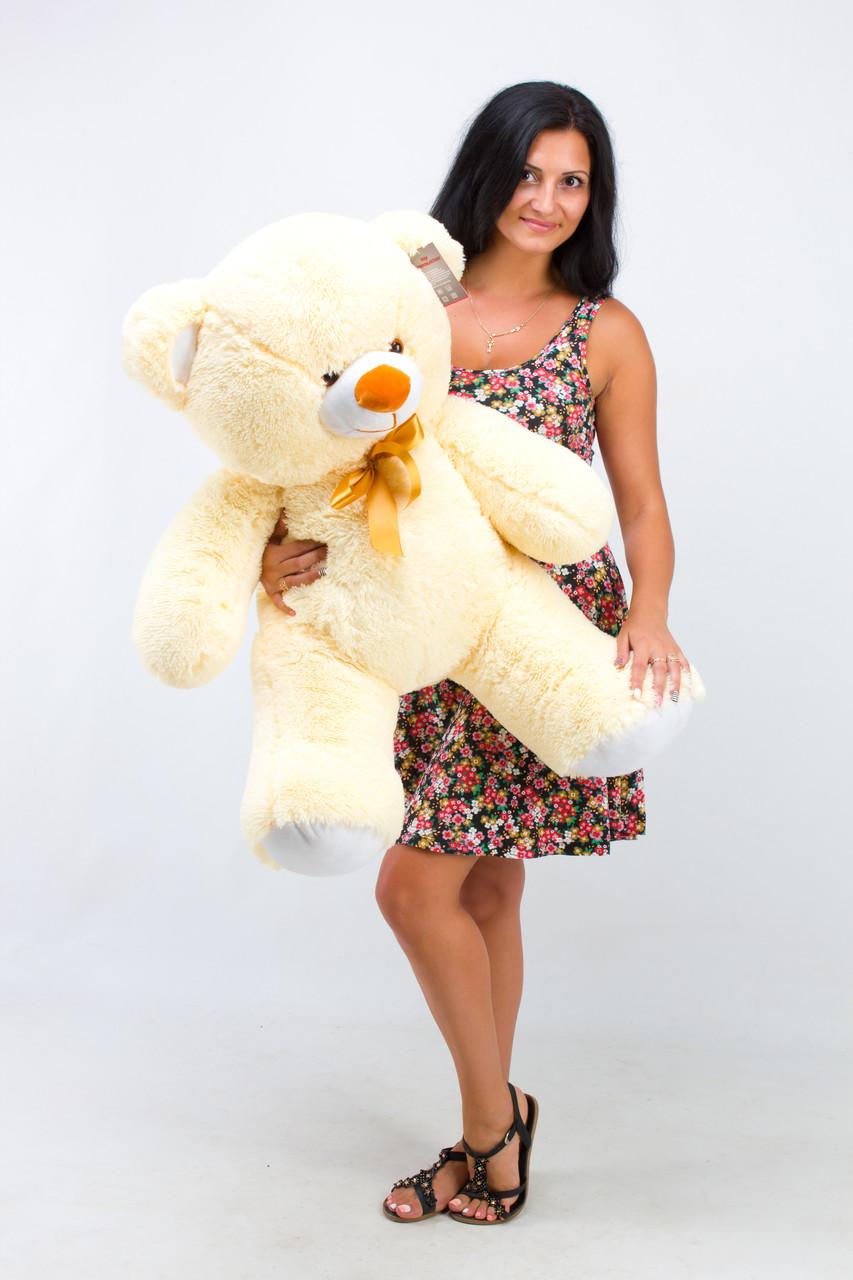 Плюшевий ведмедик кремовий 100 см