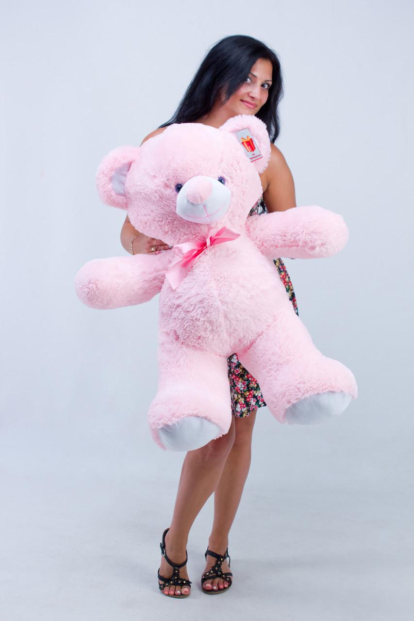 Недорогой плюшевый мишка Розовый 100 см