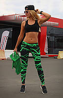 Спортивні лосини Лосини для бігу фітнесу спорту S, M, L, XL (44-46, 46-48, 48-50, 50-52)