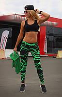 Спортивные лосины Лосины для бега фитнеса спорта S, M, L, XL (44-46, 46-48, 48-50, 50-52)