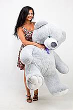 Большой Плюшевый Медведь Серый 150 см. Большая Мягкая игрушка Мишка Плюшевый подарок Тедди