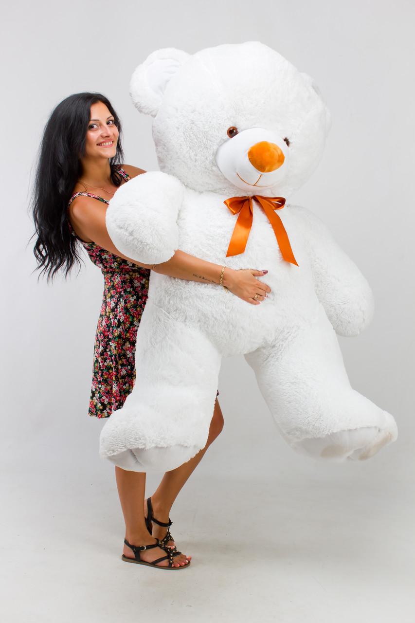 Великий ведмедик білий 200 см